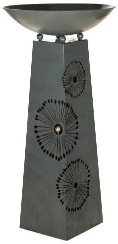 Suport flori DANDELION, metal, 117x58 cm