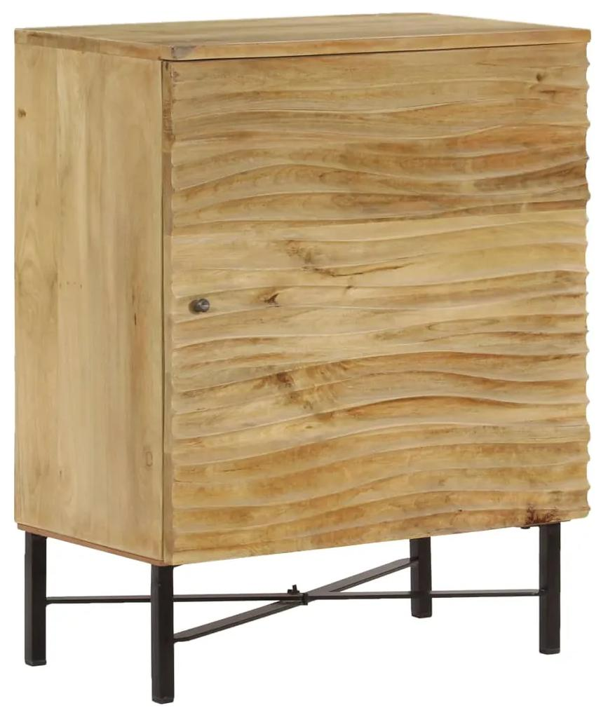 246974 vidaXL Servantă, 60x35x75 cm, lemn masiv de mango