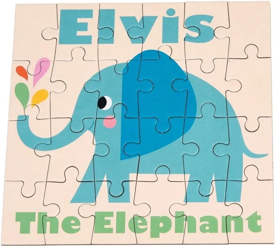 Puzzle 24 piese Rex London Elvis The Elephant