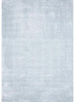 Covor Puffy albastru ou de rata 80x150 cm