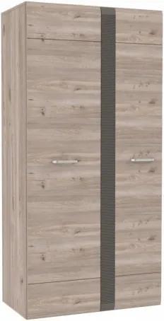 Dulap din MDF Lorno Oak 94x196x51 cm