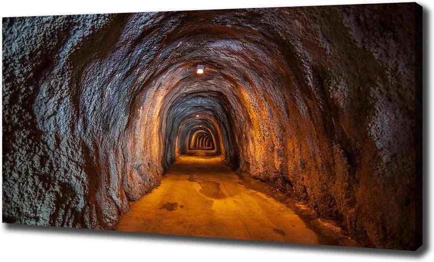 Pictură pe pânză Tunel subteran