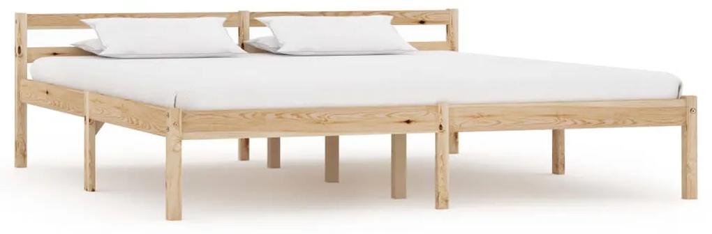 283195 vidaXL Cadru de pat, 180 x 200 cm, lemn masiv de pin