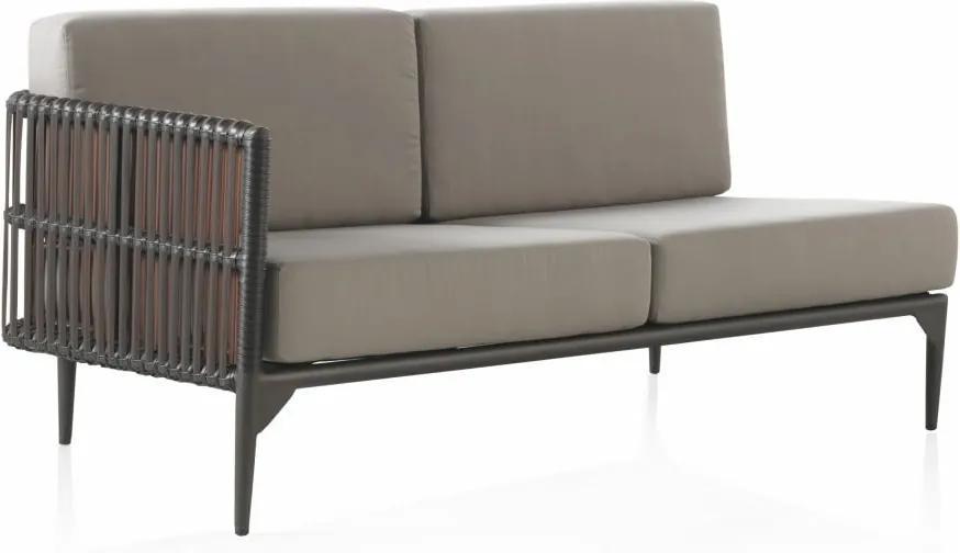 Canapea cu 2 locuri pentru grădină Geese Lilly