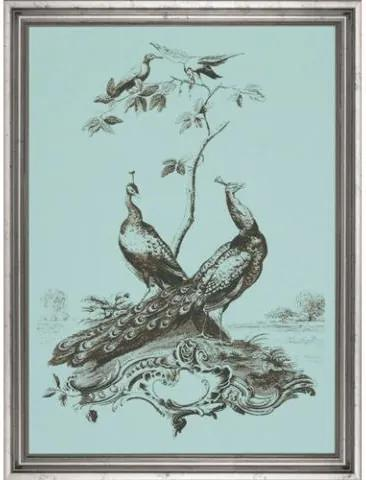 Tablou pauni Botanicals and Trees I (50x36cm)   PRIMERA COLLECTION