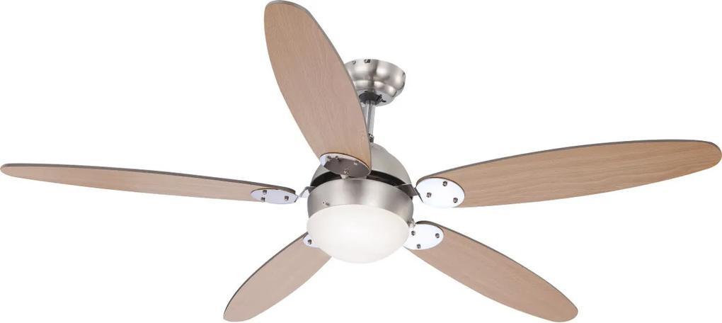 Lustra Ventilator Azura, 1 x E14 max 60W