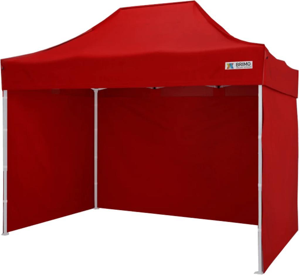 Cort pavilion pliabil 2x3m - Roșu