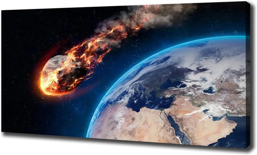 Print pe canvas Un meteorit care se încadrează