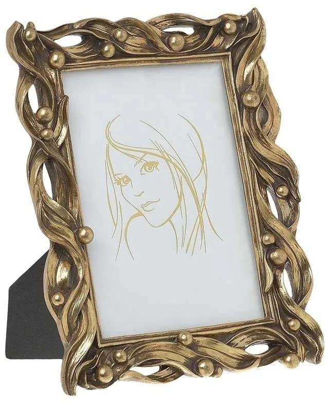 Rama foto din rasina Antique Gold 13 x 18 cm