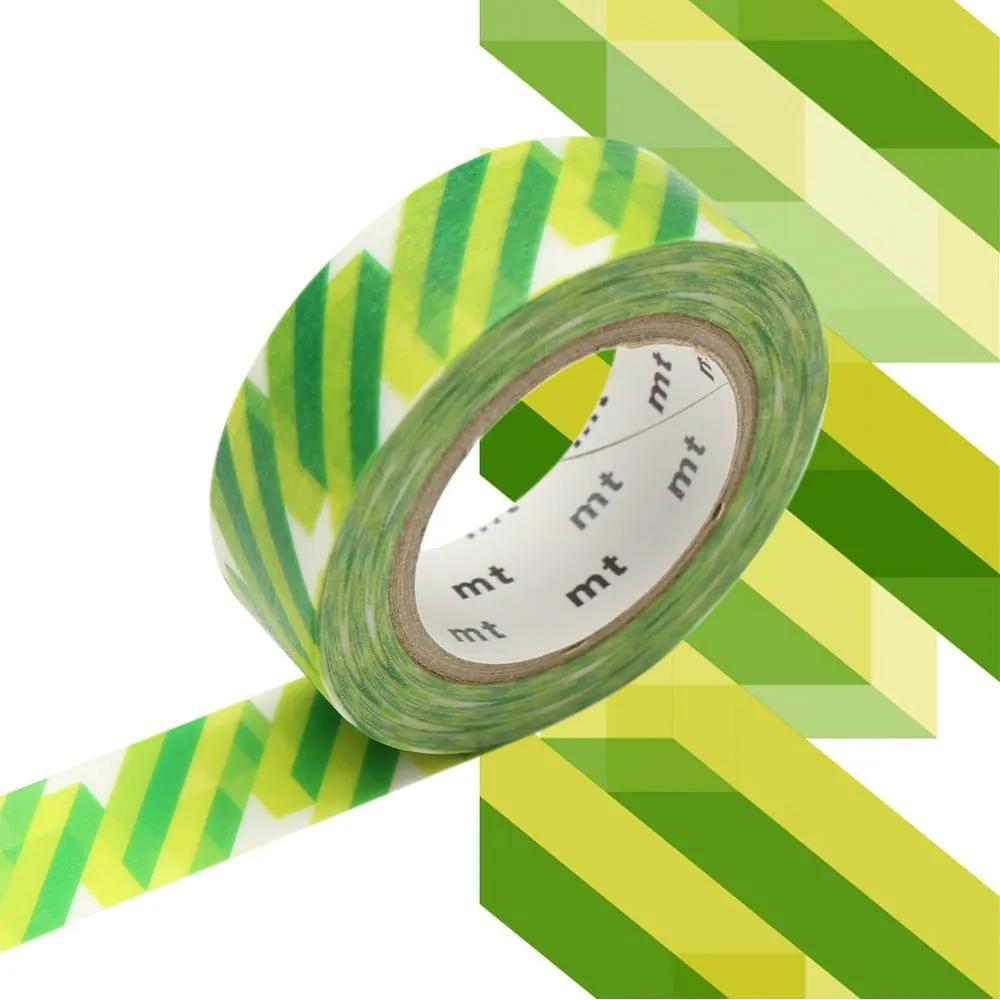 Bandă decorativă Washi MT Masking Tape Christine, rolă 10 m