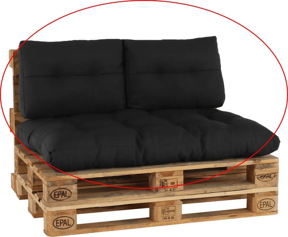 Perne pentru mobilier din paleţi, gri închis, ARYO