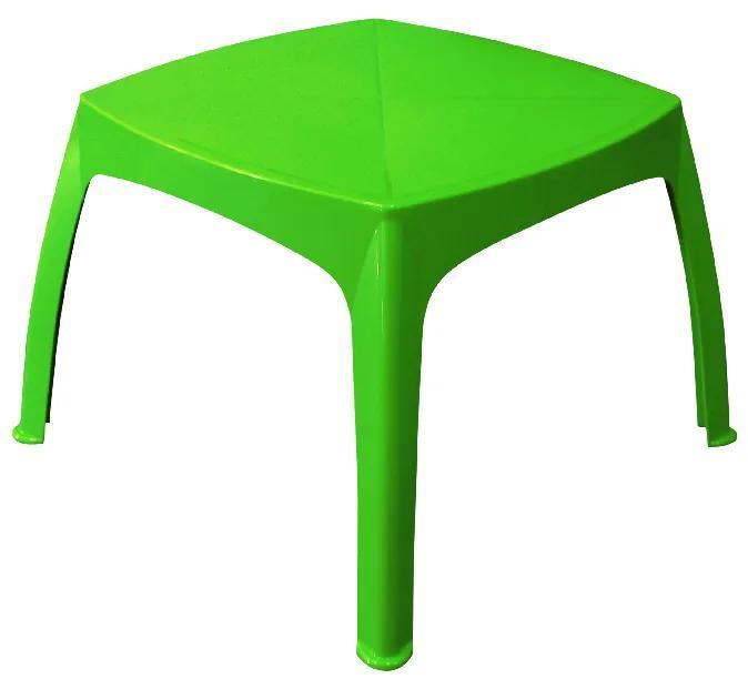 Masuta pentru copii, 68x45 Plastic Verde