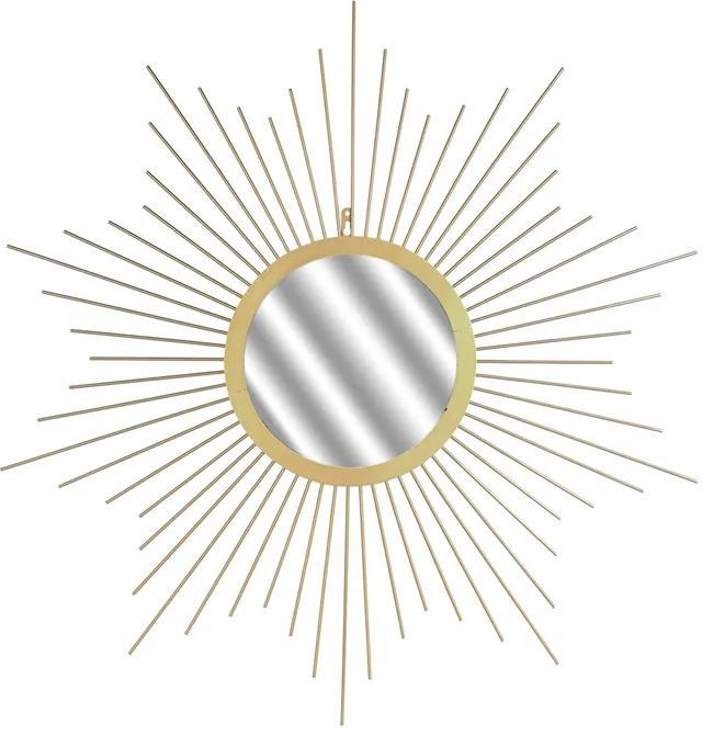 Decoratiune perete cu oglinada CMP Sunburst Gold
