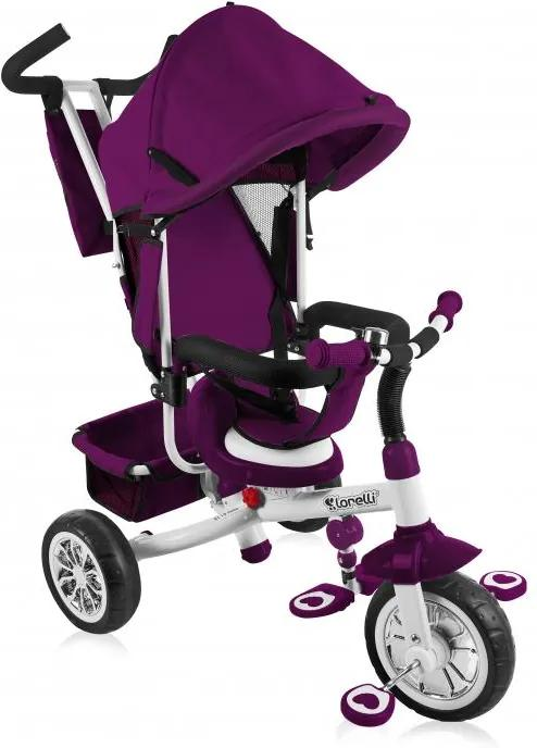 Tricicleta multifunctionala pentru copii Fast 3 in 1 Violet White