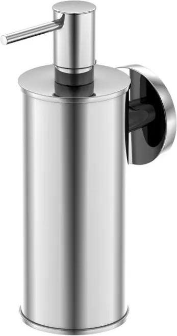 Dozator sapun lichid cu suport de perete Steinberg seria 650 crom mat