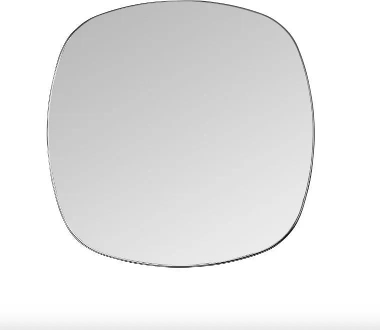 Oglinda patrata neagra din alama 50x50 cm Dobles Black Mini