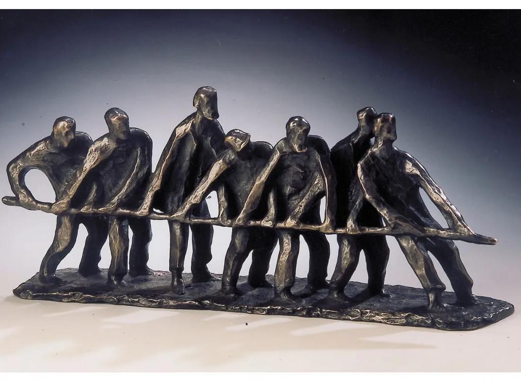 "Statueta bronz ""Echipa unita"" editie limitata"