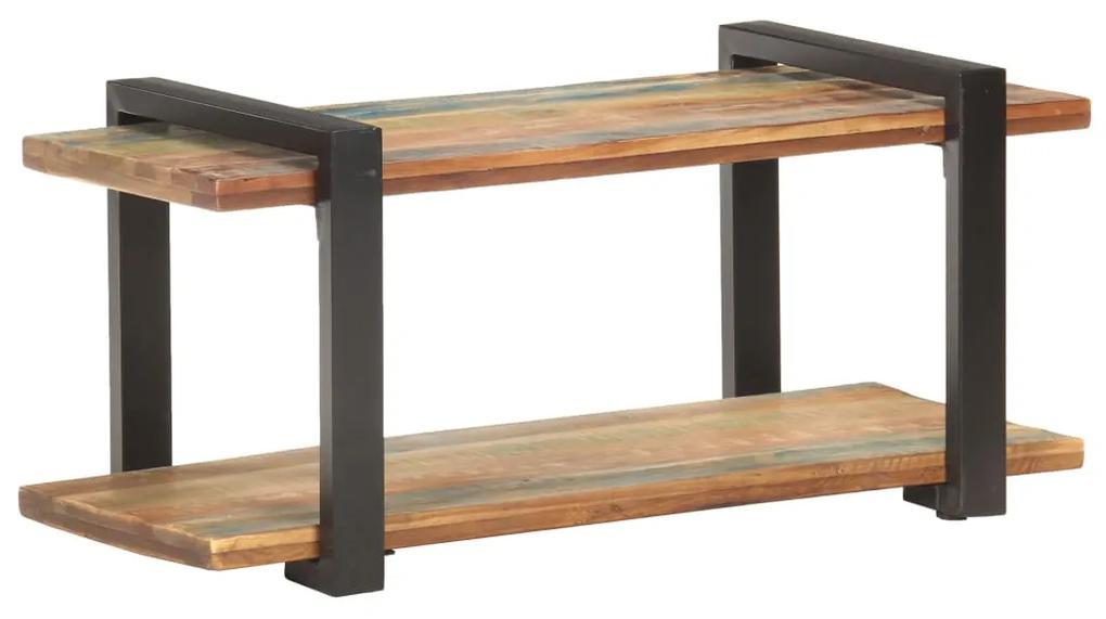 320494 vidaXL Comodă TV, 90 x 40 x 40 cm, lemn masiv reciclat