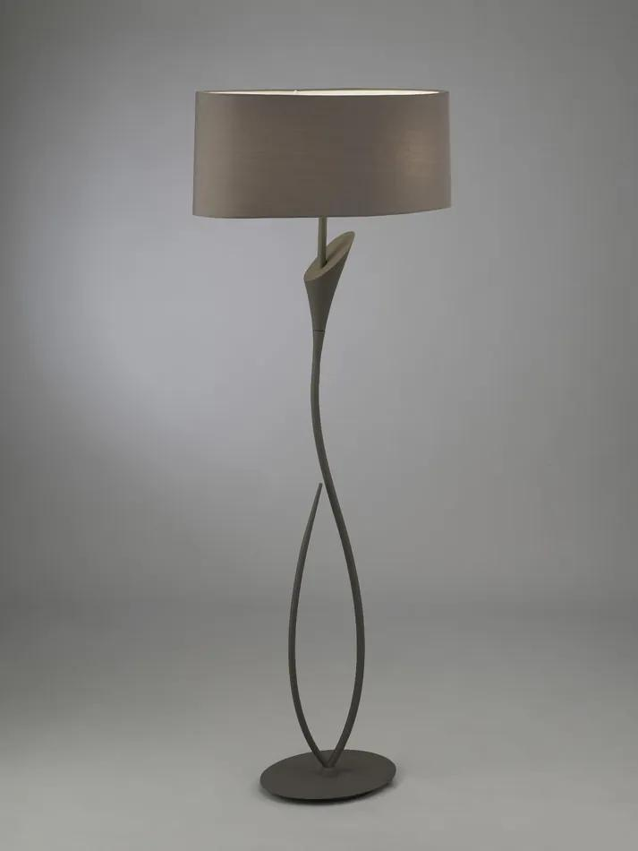 Mantra 3689 Lampadare LUA gri închis metal 2xE27 max. 13W