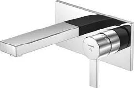 Baterie lavoar Steinberg Sensuality seria 120 de perete, pipa 14,5 cm, fara ventil, corp ingropat inclus