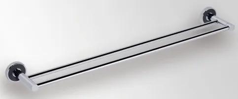 Port prosop dublu Bemeta Trend-i 655 x 52 x 110 mm ornament negru