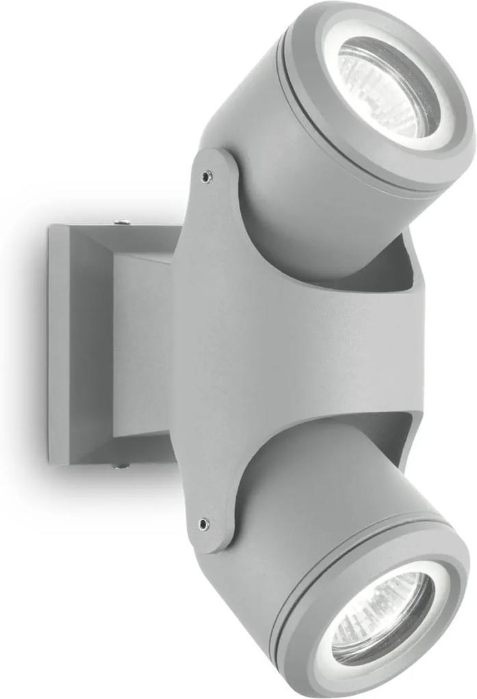 Aplica-Exterior-XENO-AP2-GRIGIO-129518-Ideal-Lux