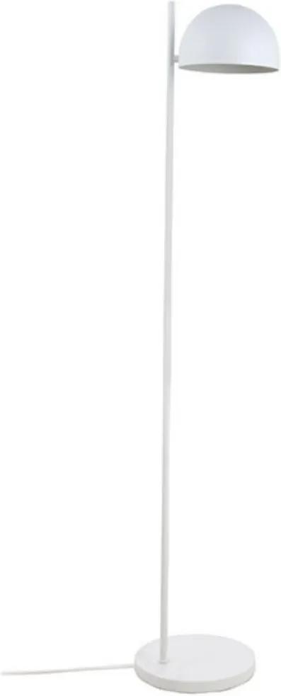 Lampa Metalica de Podea Alba cu Aspect Mat - Metal Alb Diametru(25 cm) x Inaltime(137 cm) x Latime(25 cm)