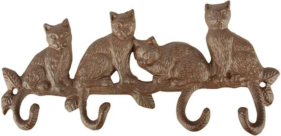 Cuier de perete Esschert Design Lumea Pisicilor