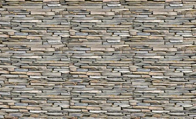 Stone Wall Fototapet, (250 x 104 cm)