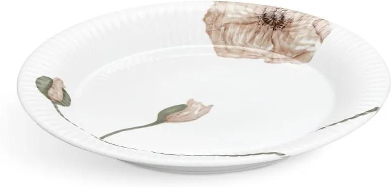 Farfurie din porțelan Kähler Design Hammershøi Poppy, ø 27 cm, alb