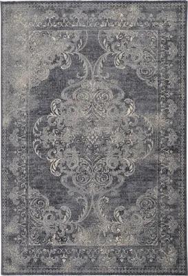 Covor lana Bella vintage, imprimeu floral, 80x150 cm