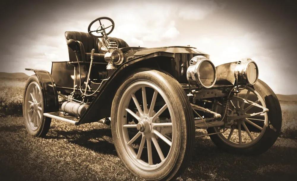 Fototapet: Mașini de Epocă - 184x254 cm