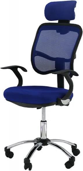 Scaun ergonomic OFF 704 Albastru