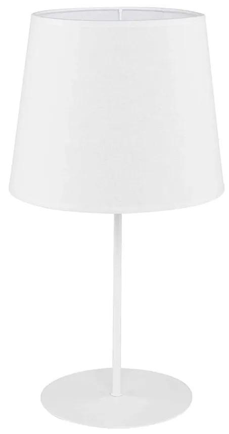 Lampă de masă ECO 1xE27/40W/230V 450 mm alb