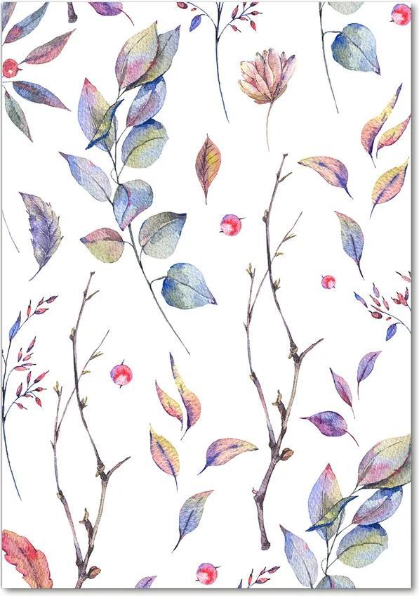 Tablou pe acril Frunze de eucalipt