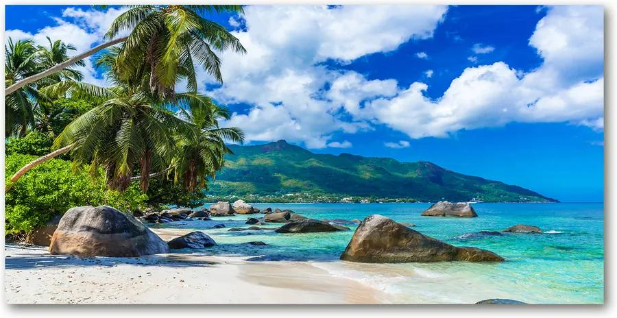Tablou pe acril Plaja Seychelles