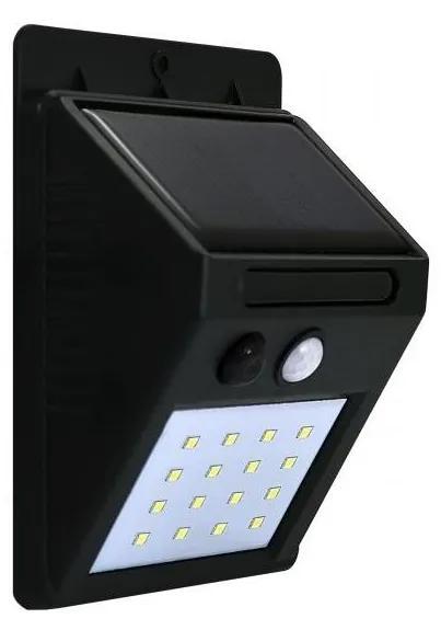 LED Aplica perete solara cu senzor LED/2,2W