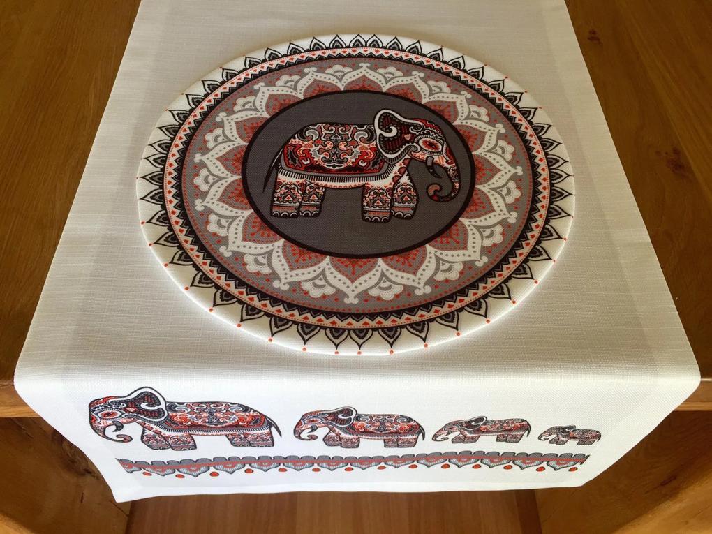Napron Elefant Ethnic 45 x 140 cm