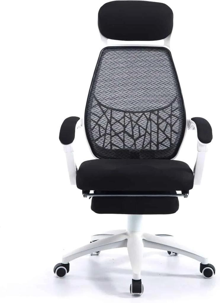Scaun ergonomic, mesh, recliner, SIB 67996W