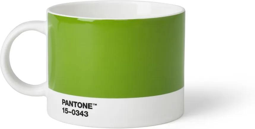 Cană pentru ceai Pantone, 475 ml, verde