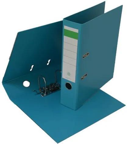 Biblioraft plastifiat PP/PP 8 cm aqua