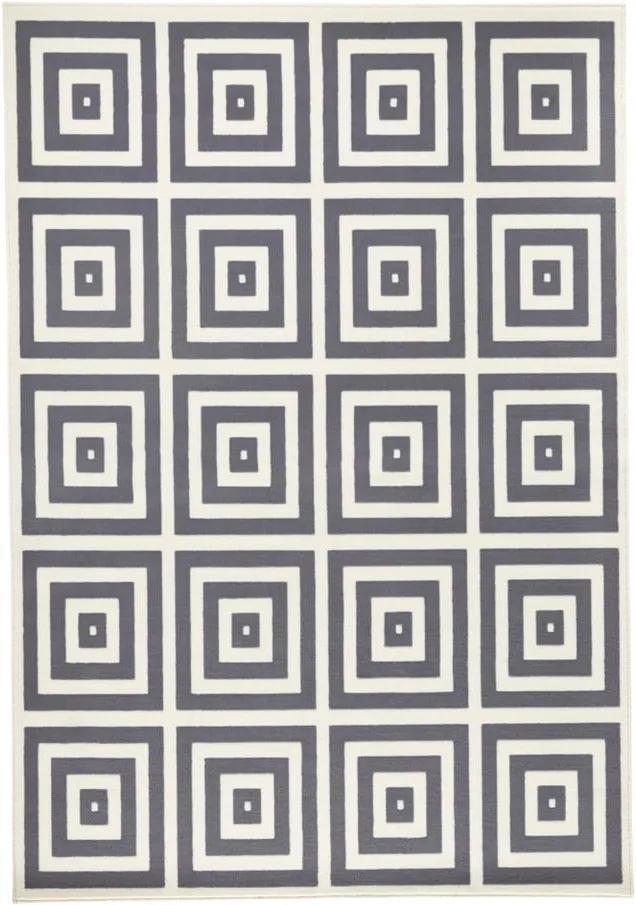 Covor Hanse Home Mono, 200 x 290 cm, gri - alb