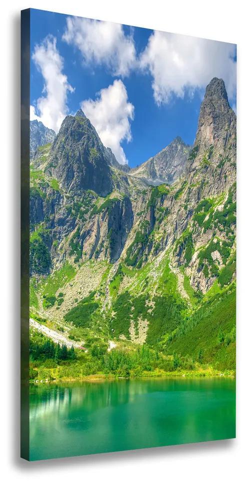 Tablou pe pânză Lacul în munți