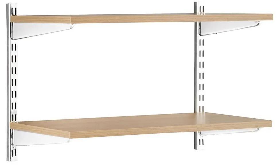 Raft suspendat 2P, 80x25x50 cm, PAL Stejar Sonoma