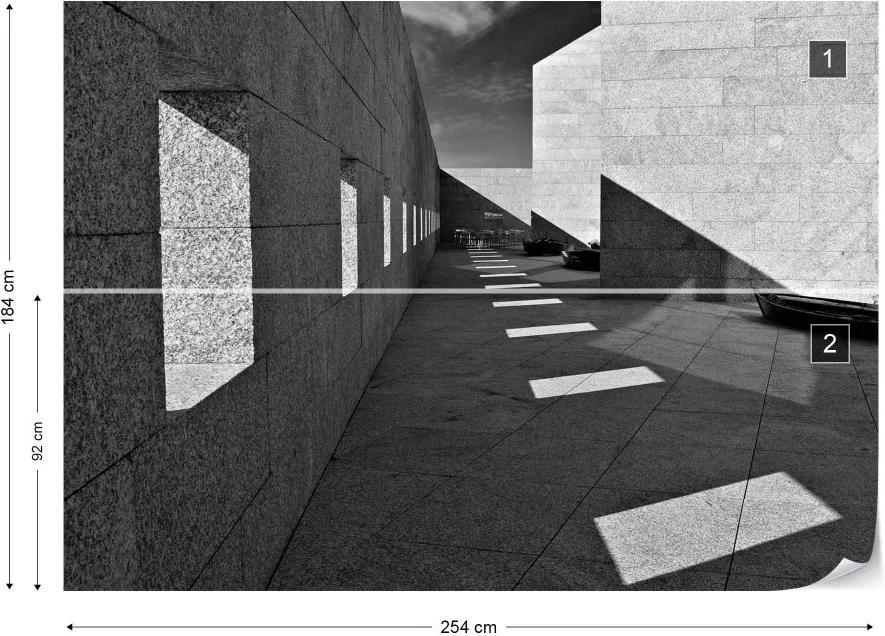 Fototapet GLIX - In The Yard + adeziv GRATUIT Tapet nețesute - 254x184 cm