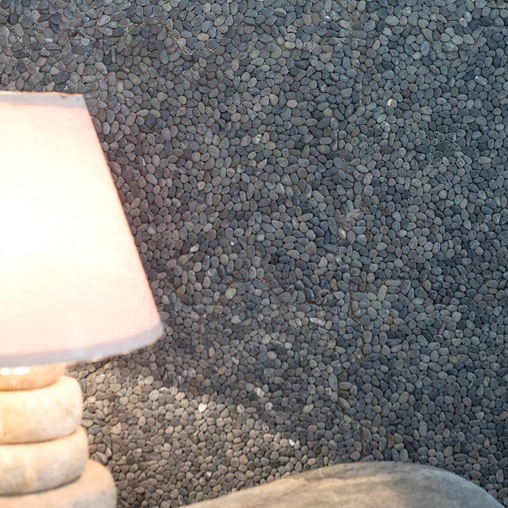 Mozaic Pebbles Small Black Produs Comanda Speciala