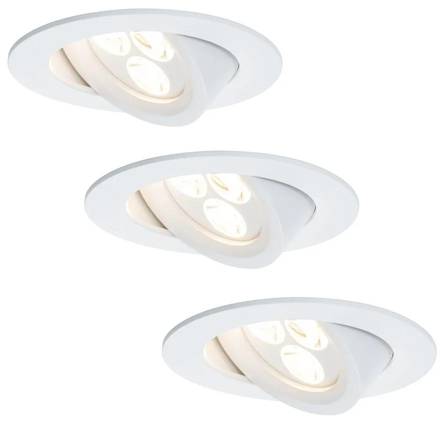 Paulmann 92689 - SET 3xLED Lampă încastrată PREMIUM LINE 3xLED/7,5W/230V