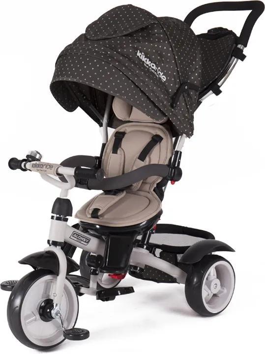 Tricicleta multifunctionala Alonsy Beige Triangles