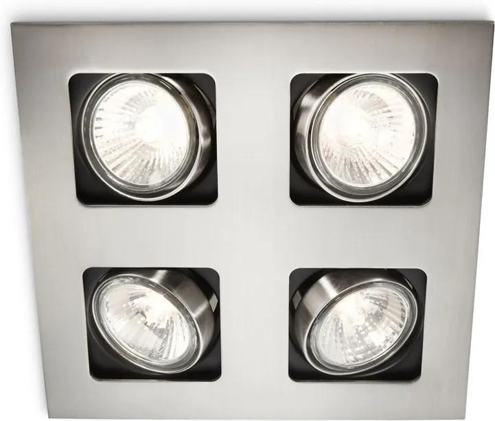 Philips 59304/17/16 - Corp de iluminat tavan fals MYLIVING ACAMAR 4xGU10/35W/230V