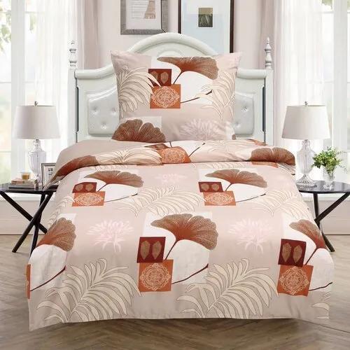 Lenjerie de pat luminoasă Ginkgo, 140 x 200 cm, 70 x 90 cm
